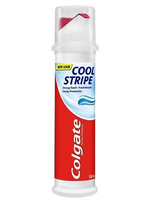 خمیر دندان Colgate مدل Cool Stripe